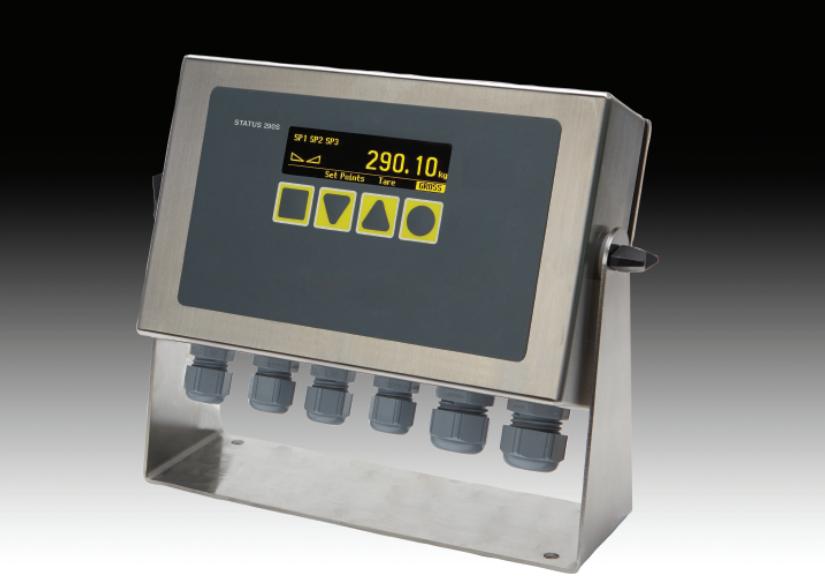 Status 290 Industrie 4.0 Wägezellen Elektronik Verstärker
