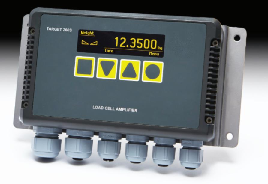 Target 260 Industrie 4.0 Wägezellen Elektronik Verstärker