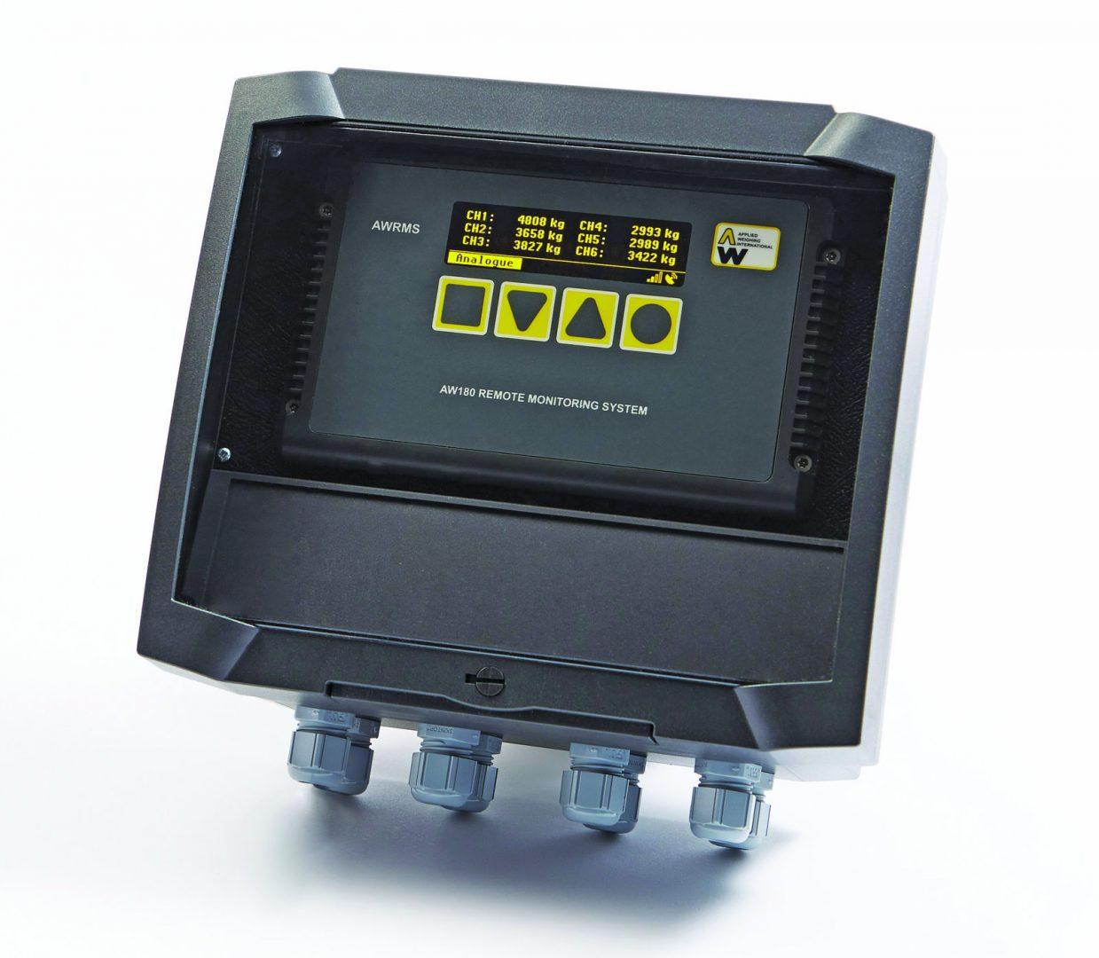 Teleonix Auswerteelektronik Amplifier Wägesystem mit Datenfernübertragung Fernüberwachung Silostände Silostand Verbrauchsmeldung Verbräuche