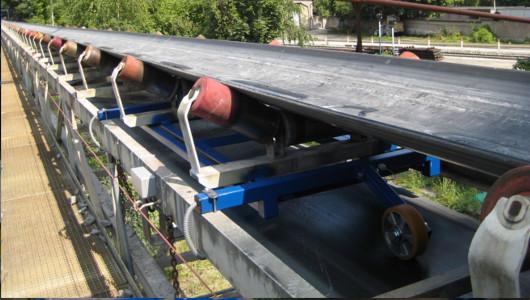 Einbau-Bandwaage BW20 Förderband