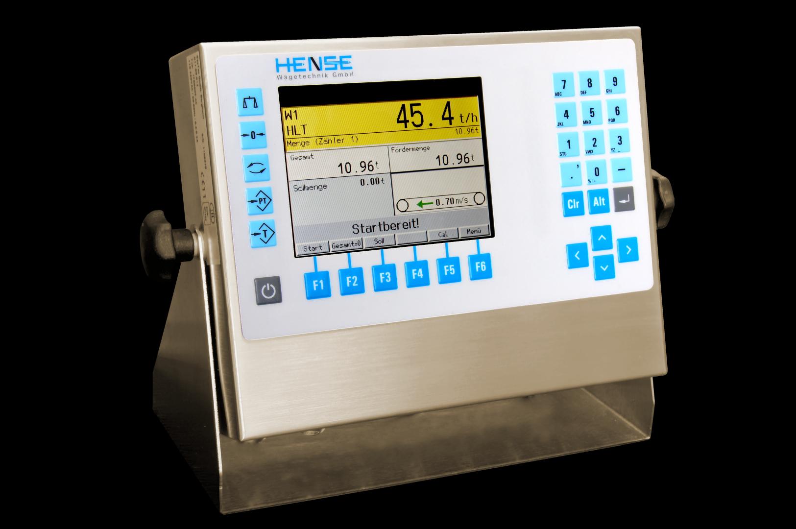 Auswerteelektronik Durchflussmessung Amplifier Verstärker Messverstärker Bandwaage