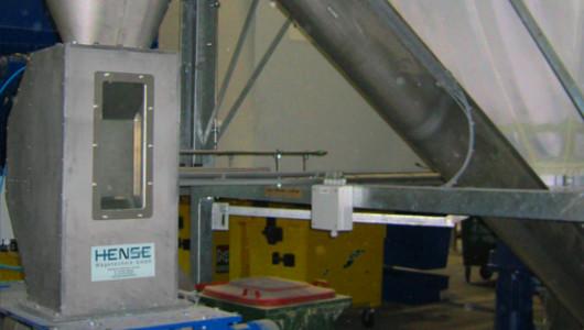 FlowSlide Durchlaufwaage für Schüttgüter