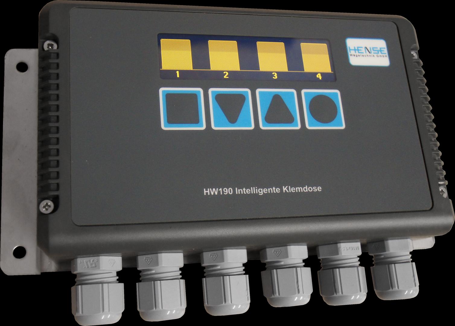 Intelligente Klemmdose Instandhaltung Montage Überwachung Wägezellensignale Elektronik Verstärker