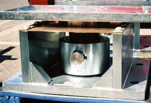 Zylindrische Wägezelle mit Fesselung